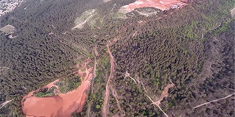 red zone investigation about the red muds of gardanne